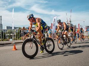 триатлон велоэтап