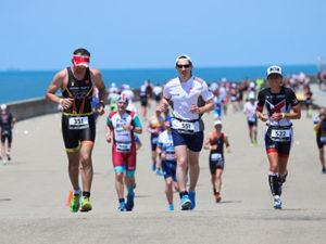 триатлон беговой этап