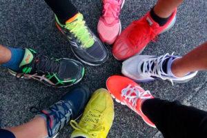 Бег обувь в строго специализированных магазинах